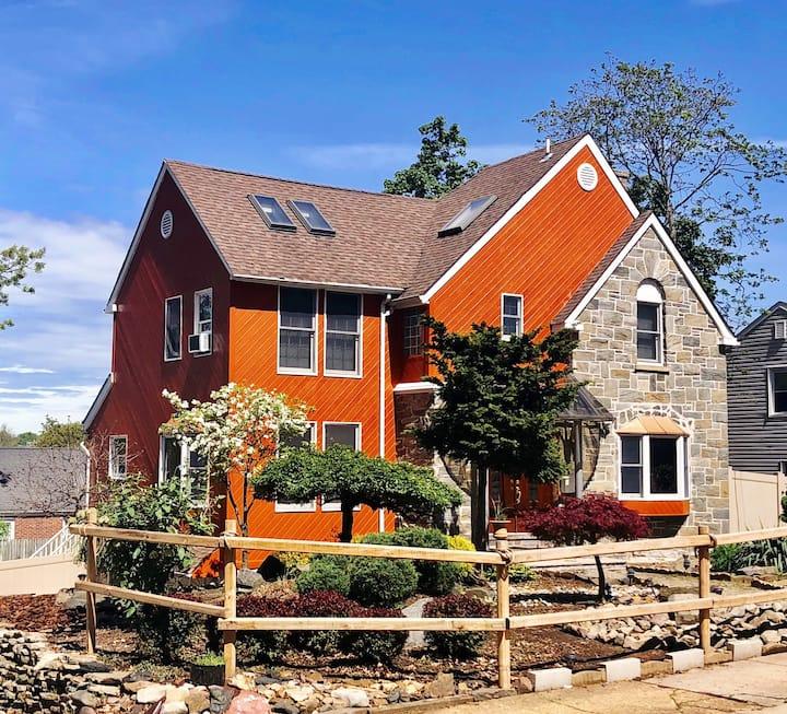 Sheng's  Villa near N.Y.C