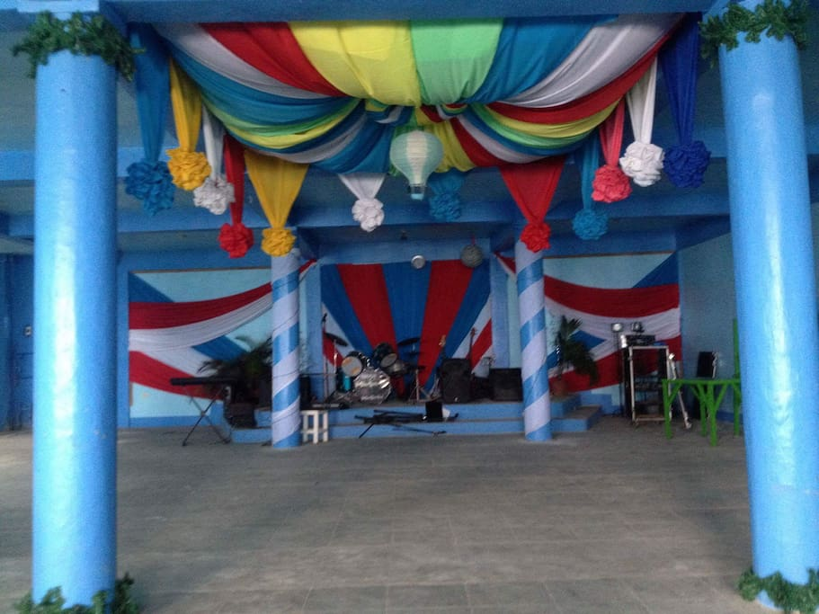 The function hall