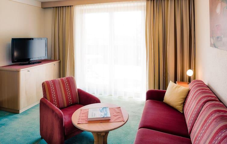 Serfaus, Apartment 3-4 Personen ca. 70m², Terrasse