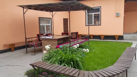 Entire guest house in the Center  of Osh