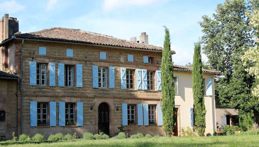 Lovely Lily Room with 2 single beds in Manoir - Couffouleux - Bed & Breakfast