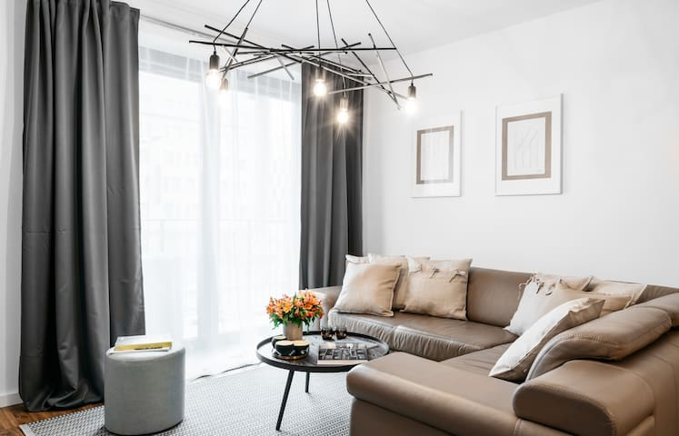 Hygge style apartment 10 min walk to the Old Town*PARKING