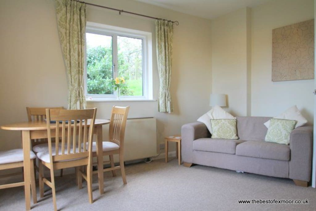 The Bramleys Sitting Room with Dining area