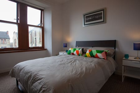 Comfortable and fresh 1 bedroom apartment - Glasgow - Lägenhet