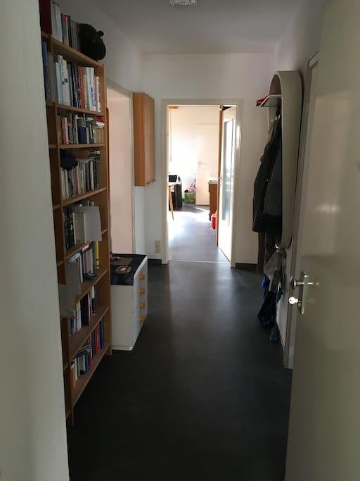 Flur in der Wohnung