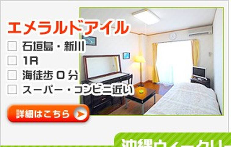 Good place with the ocean view - Ishigaki-shi - Apartmen