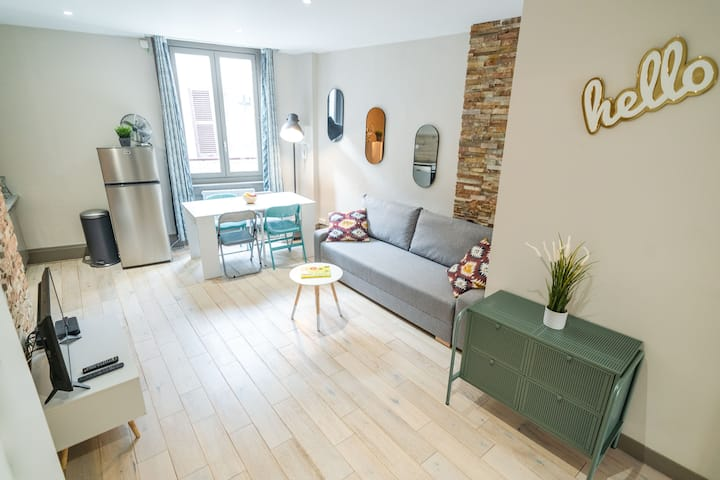 Le NewYorkais- appartement 4 pers- Oullins-Lyon