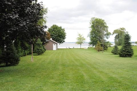 Guest suite on Lake Winnebago
