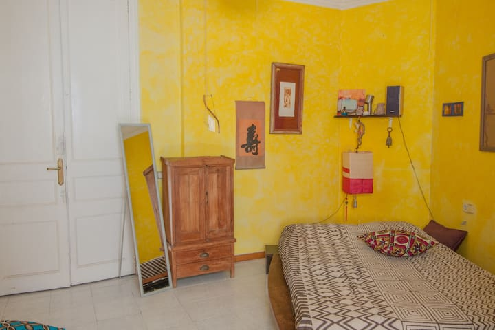 Cozy double room in the heart of Barcelona