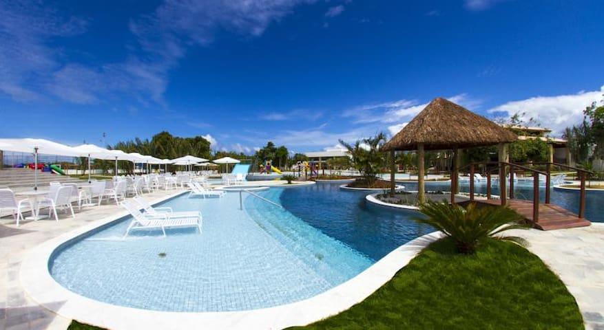Apartamento no Iloa Resort p/ até 7 - Barra de São Miguel - Apartment