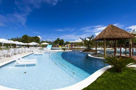 Apartamento no Iloa Resort p/ até 7 - Barra de São Miguel - Lejlighed