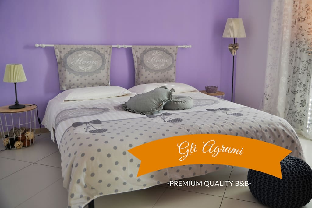 B b gli agrumi salerno amalfi coast pompei bed and for Bed and breakfast amalfi coast