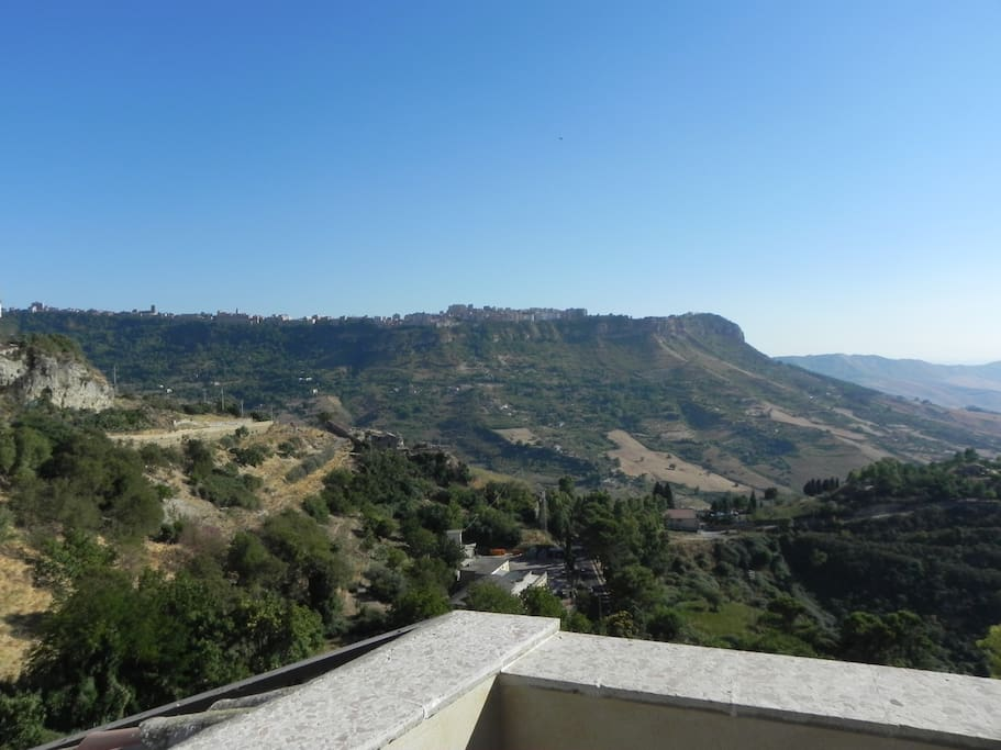 Panorama dalla terrazza privata