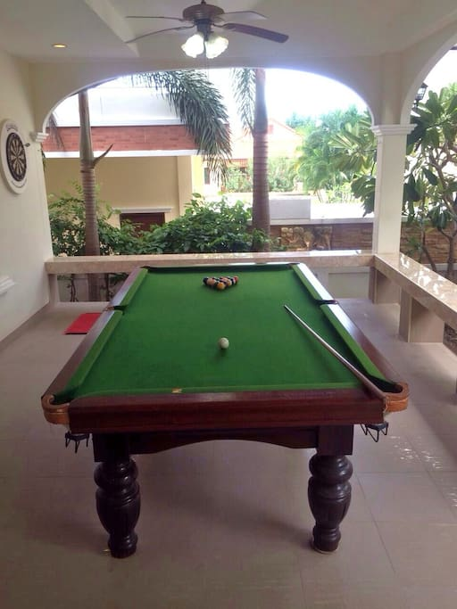 Pool Table Terrace