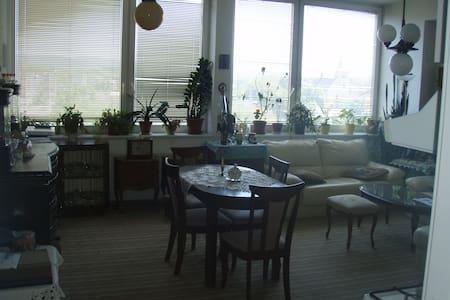 Prostorný byt s výhledem na centrum - Valašské Meziříčí - Apartament