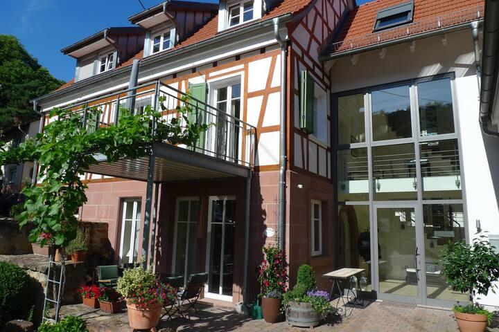 Winzerhaus Südpfalz, Dachgeschosswohnung