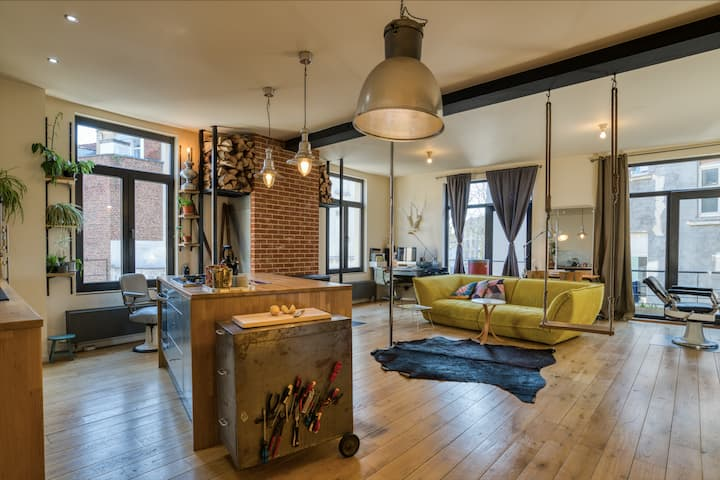 Down town loft appartement
