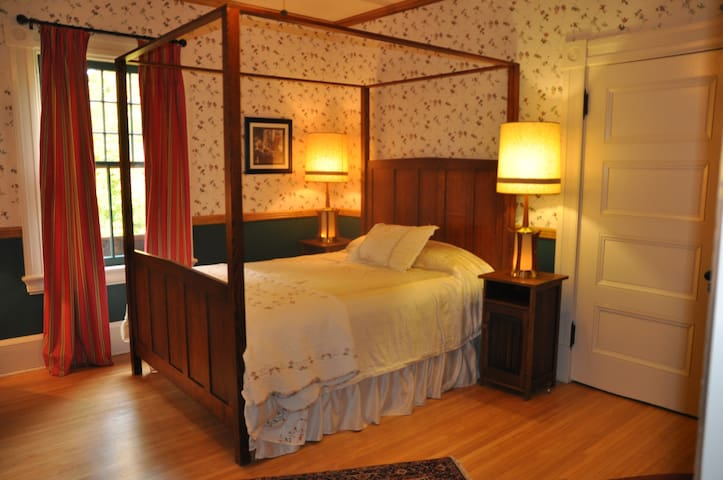 "1880 Victorian B&B ""Frog Room"" - Oberlin - Bed & Breakfast"