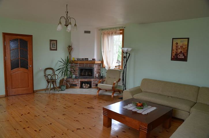 Cozy house with free ride from city center
