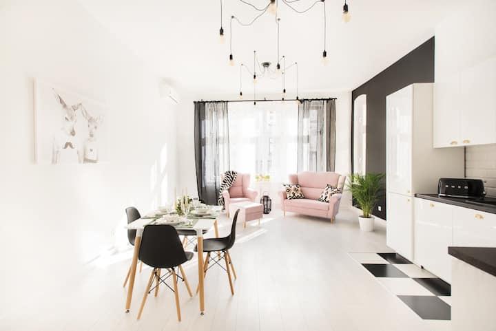 Legnica, Apartament 81m2 ul. Rycerska  M&M Delux 5