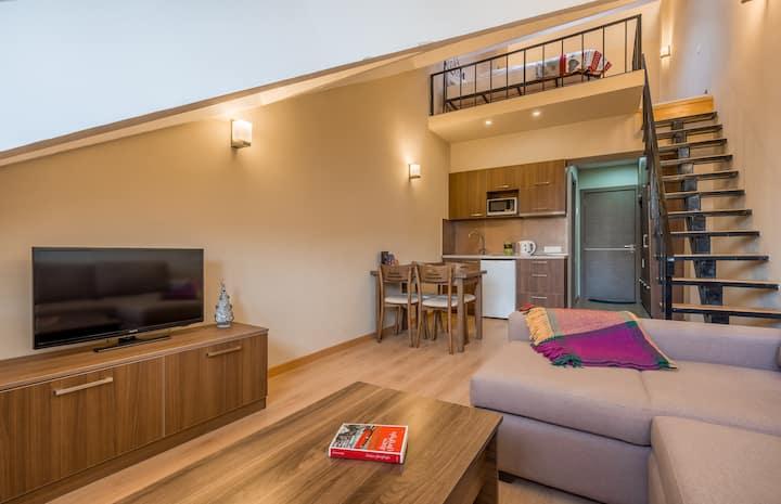 Aparthotel in New Gudauri