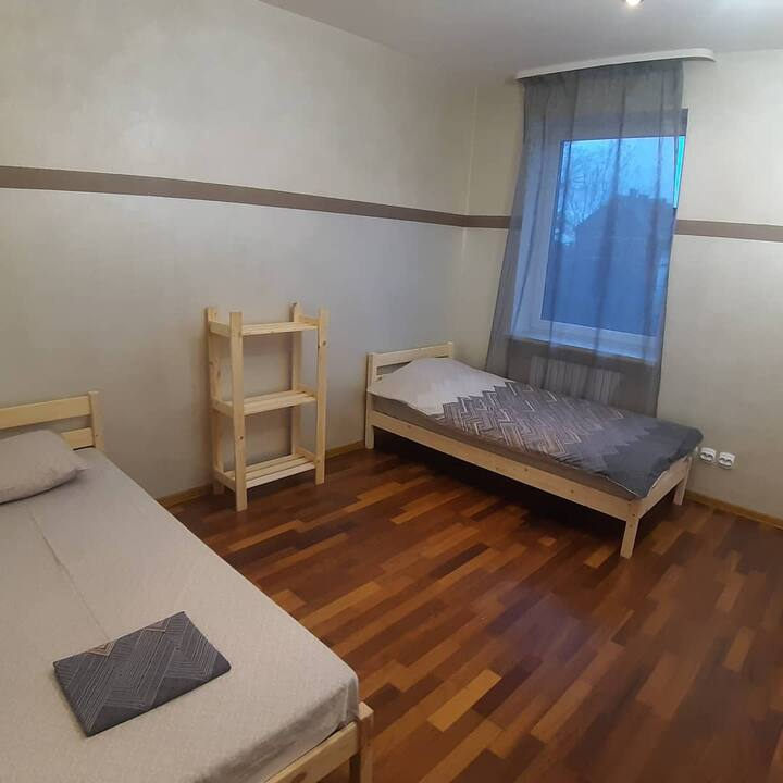 Уютный хостел в четырехэтажном особняке