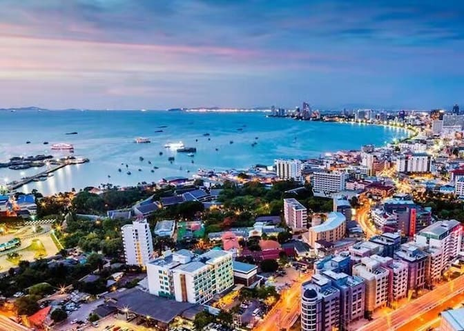 Pattaya LUPIMIN 30 floor of Sea View Condo