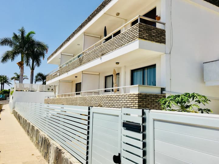 ⛱ Apt. in San Agustín - 3 min. walk to the beach