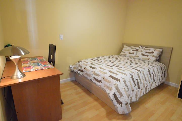 Cozy Bedroom with Private Bath near SFO, 101, SFSU
