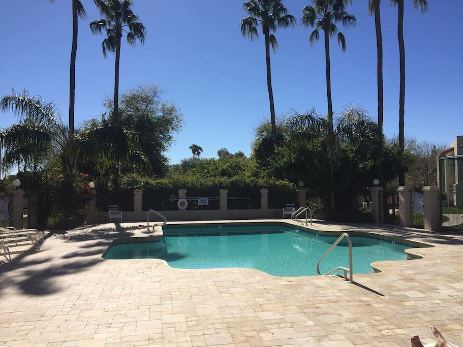 Spring training 1 bedroom condo with pool apartments for Pool fill in mesa az