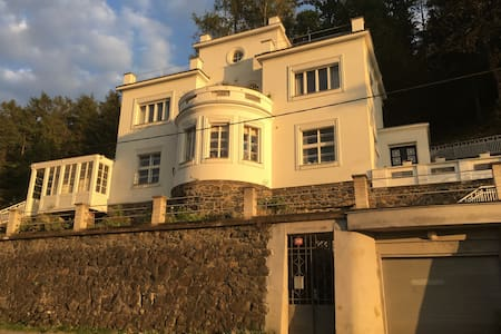 Lovely villa on a river Sazava - Chocerady - Bed & Breakfast