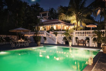 6BD Exclusive Luxury Villa with Swimming Pool - Canacona