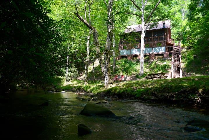 Tumbling Waters on Wolf Creek