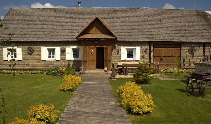 Красивая усадьба - Klišabalė - Rumah Tamu