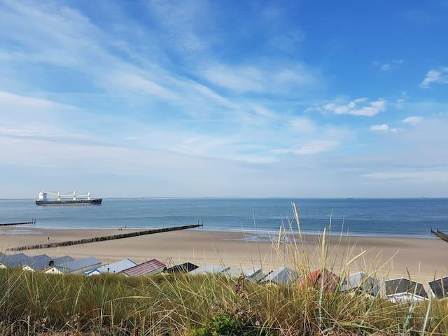 Huisje op loopafstand van het strand (Dishoek)