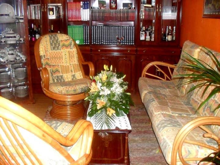 apartamento  amplio, ideal para grupos o empresas