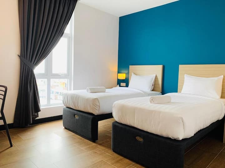 Deluxe Twin Single Room at Zone Hotels