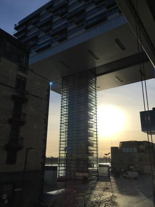 Morgendlicher Blick - Sonnenaufgang