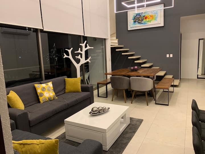 Moderno Penthouse en Cuernavaca
