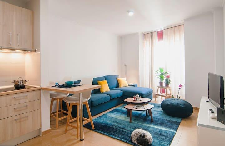 cómodo y acogedor. Siéntete en casa Apartamento 1