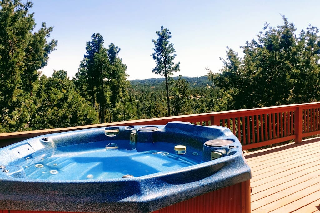Hot Tub - Secluded with spectacular views