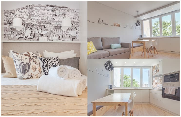 ★★ Lisbon Alegria Apartment Downtown ★★ Superhost