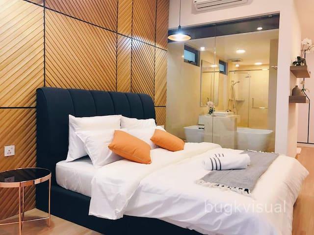 Luxury Seaview 3BR Family Suite for 8P w/ Bathtub✨