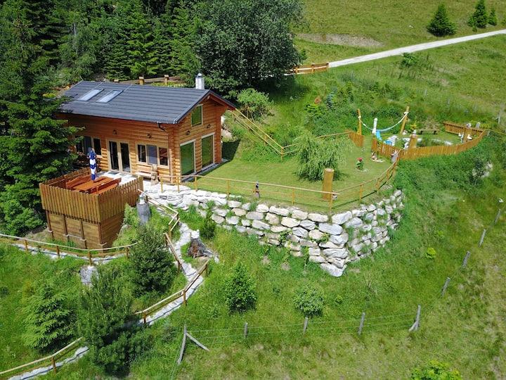 Romantikhütte, Wellness, Natur und Luxus