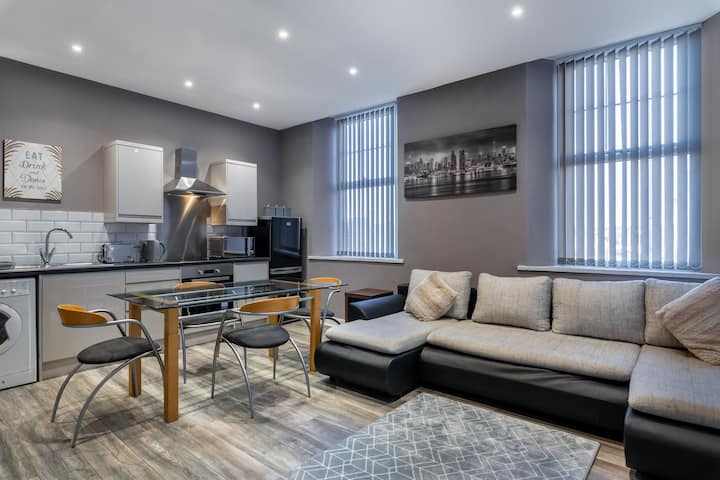 Darlington Town Centre Open Plan Luxury Apartment