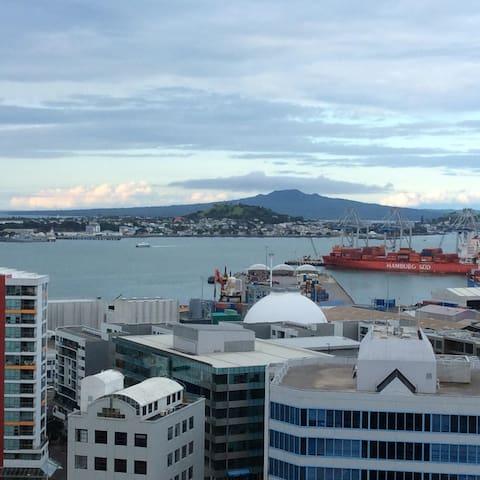 Beautiful city & sea views
