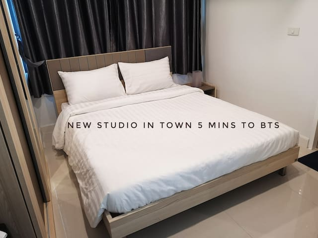 Modern studio 5 min to BTS/10 min to Siam and MBK