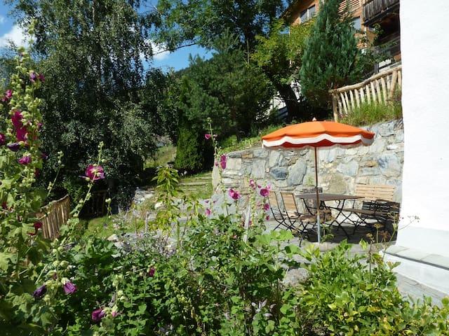Der Gartensitzplatz