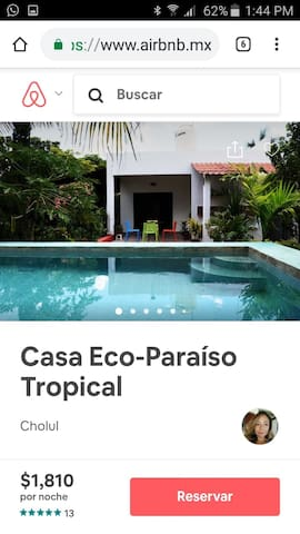 Casa Eco-Paraíso Tropical