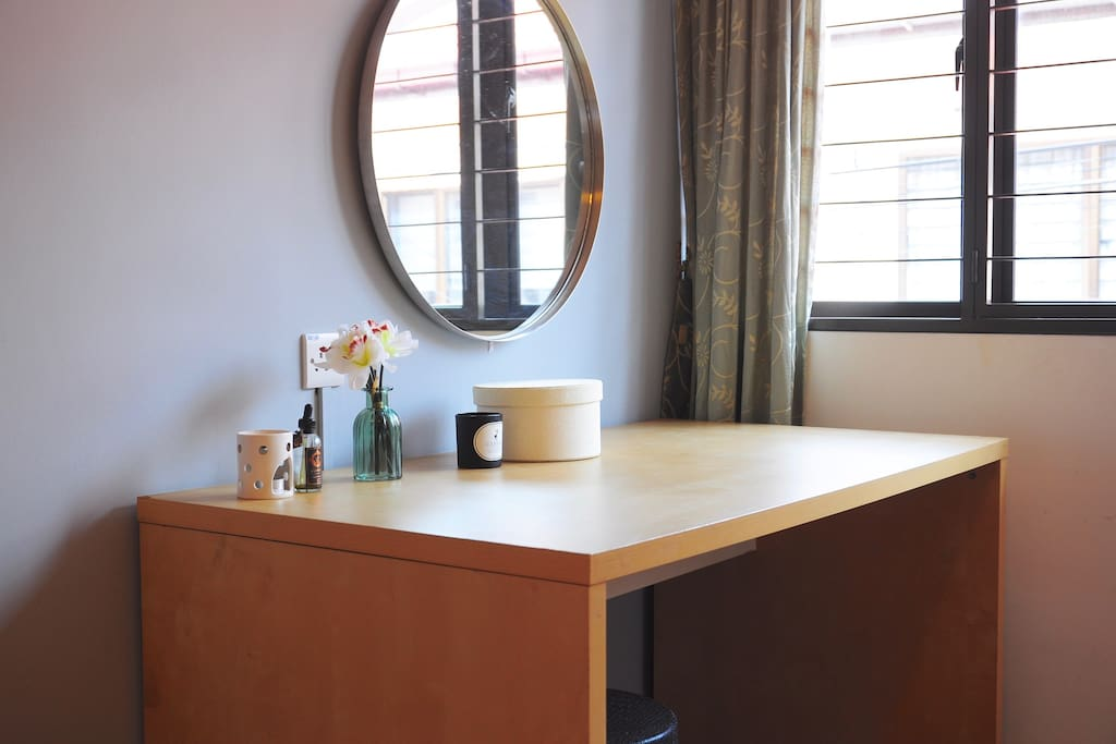 Work Table / Dressing Table by the window